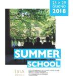 Summer school  25 – 29 giugno 2018