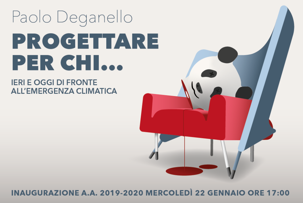 Mercoledì 22 gennaio > La Lectio Magistralis di Paolo Deganello apre l'anno accademico di ISIA Faenza